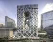 まるで外骨格に覆われたような近未来的スタイルのホテル「モーフィアス」がマカオにオープン