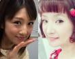 左:小倉優子オフィシャルサイトより右:千秋Instagramより