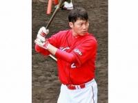 広島東洋カープの新井貴浩選手(「Wikipedia」より)