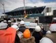 東京2020オリンピック・パラリンピック メディア向け施設見学ツアー(写真:AFP/アフロ)