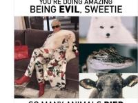 PETA、クリス・ジェンナー (c) twitter