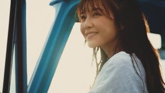 新CM「あふれる笑顔」篇に出演したAAAの宇野実彩子