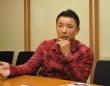 党名について真意を語る山本太郎・参議院議員