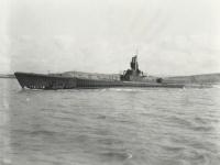 バーニー作戦で日本艦船を撃沈した米軍の潜水艦「スペードフィッシュ」(「Wikipedia」より)
