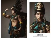 ラスボス降臨!?世界のイケメン度を競う「2019年ミスター・グローバル」コンテストの民族衣装部門がすごい