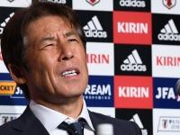 2018FIFAW杯日本代表帰国会見(写真:AFP/アフロ)