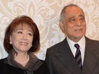 朝丘雪路さんと夫の津川雅彦さん(写真:日刊スポーツ/アフロ)
