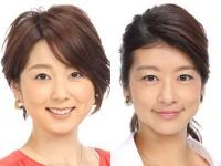 左:秋元優里アナ、右:生野陽子アナ/フジテレビ「アナマガ」より