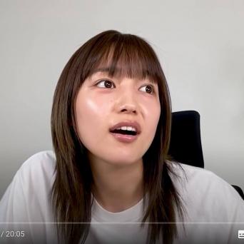 YouTube:川口春奈オフィシャル はーちゃんねるより