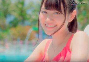 「遭遇できたら最高だな……」/画像は、小倉 唯「ハイタッチ☆メモリー 」MUSIC VIDEO(short ver.)より。