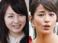 永島優美アナと平井理央アナ