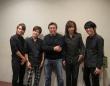 弘兼憲史先生(中央)とエレキインストバンドB.C.V.の皆様