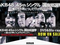 『AKB48 45thシングル 選抜総選挙』公式サイトより。