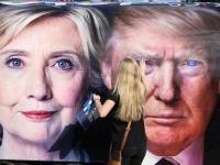 2016年米国大統領選挙(The New York Times/アフロ)
