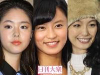 (左から)唐田えりか、小島瑠璃子、木下優樹菜