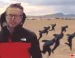 エリア51急襲イベントがついに決行。参加者は予想を大幅に下回ったがナルト走りは行われていた!(アメリカ)