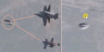 南極で米軍がUFOと飛行訓練をしていた!?グーグルアースで発見された2つの未確認飛行物体