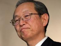 綱川智社長(写真:つのだよしお/アフロ)