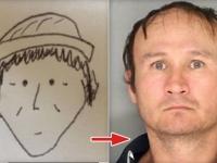 逆にこれで見つけた方が神だわ。目撃者が描いた漫画風似顔絵が決めてとなって窃盗犯が逮捕された件(アメリカ)