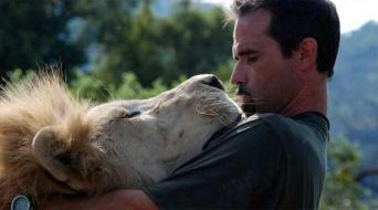 「ライオンと交信できる男」、ケビン・リチャードソンとライオンたち