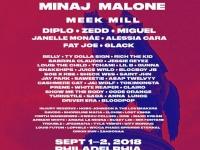 メイド・イン・アメリカ・フェスティバルのラインナップ