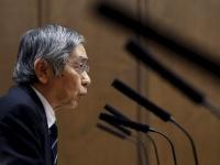 マイナス金利について答弁する黒田日銀総裁(画像:ロイター/アフロ)