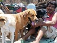 三輪自転車でメキシコ全土をめぐり、犬を保護しながら引き取り手を探す旅を5年間以上続ける男性