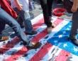 韓国での反米デモの様子