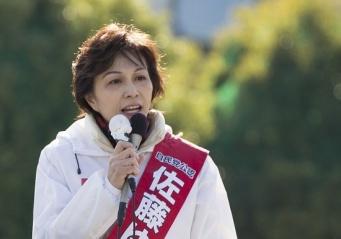 自民党の佐藤ゆかり衆議院議員(写真:坂本照/アフロ)