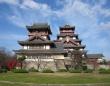 伏見城 模擬大天守、小天守(Thomas vanierschotさん撮影、Wikimedia Commons