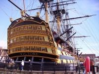 戦列艦・ヴィクトリー(HMS Victory) 画像は「Wikipedia」より引用