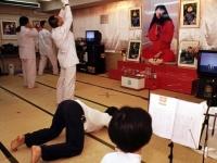 オウム真理教道場(Hironori Miyata/Camera Press/アフロ)