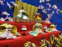 2月9日から登場している「北斗の拳」ひな人形(以下画像は海洋堂ホビー館四万十提供)