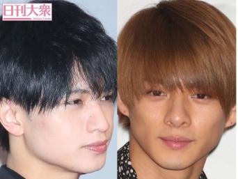 中島健人(左)、平野紫耀