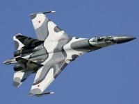 旧ソヴィエト連邦製の戦闘機Su-27SKM(「Wikipedia」より)