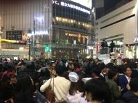 ハロウィン当日の渋谷の様子