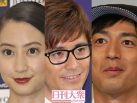 (左から)河北麻友子、藤森慎吾(オリエンタルラジオ)、徳井義実(チュートリアル)