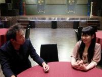 公演前のパセラアキバマルチエンターテインメント7階・アリスプロジェクト常設劇場にて。