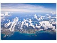 基地移設反対を貫けるか(写真は空から見た辺野古周辺)photo by 絶景.com
