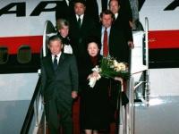 1988年、首相就任後に初訪米した竹下登元首相
