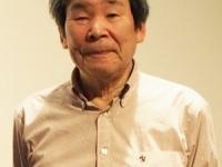 2017年4月、東京で行われた三上智恵監督とのトークイベントでの高畑勲監督(撮影=編集部)