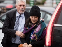 ファーウェイCFOが保釈、カナダの自宅で滞在へ(写真:Press Association/アフロ)