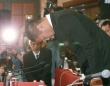 関学との試合で悪質な反則行為を行ったことに関し、記者会見をする日本大学宮川泰介選手(日刊現代/アフロ)