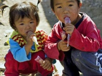 中国農村部の留守児童