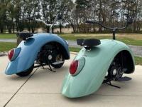 フォルクスワーゲンのフェンダーを利用したミニバイクがかわいい!