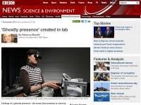実験結果を報じた「BBCNEWS」