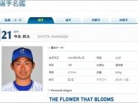 『選手名鑑|横浜DeNAベイスターズ』より