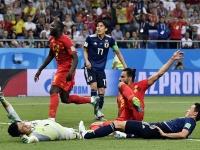 2018 FIFA W杯 決勝トーナメント1回戦(写真:Belga Image/アフロ)