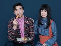 「ELLE」台湾版2月号に掲載されたツーショット写真
