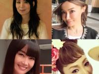 左上:NHK『SONGS』HP 右上:平子りさInstagram左下:観月ありさInstagram 右下:神田うのオフィシャルサイト